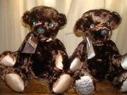 Memory Bears - Made from recycled fur coats