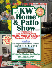KW Home and Patio Show On This Weekend!