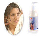 Effective natural conditioner for hair beauty