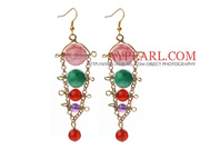 Assorted Dangle Multi Color Earrings